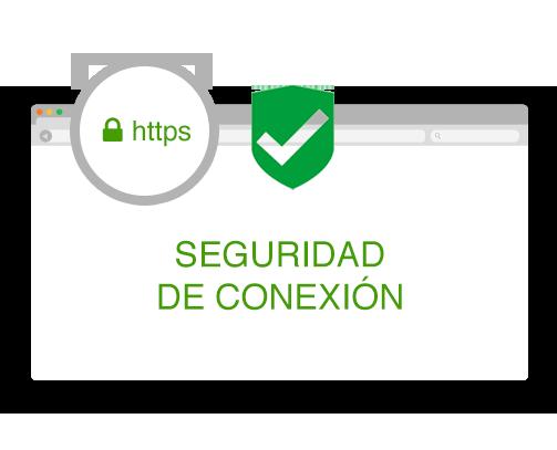 Seguridad de conexión